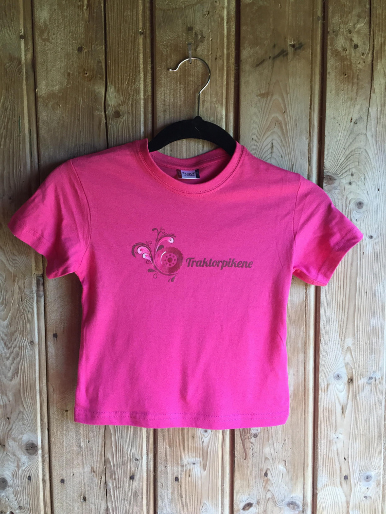 82389242 Bringebær T-skjorte til Barn - Traktorpikene
